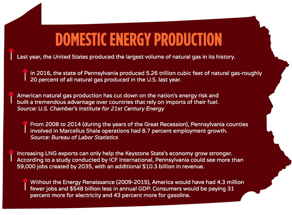 Domestic Energy Production